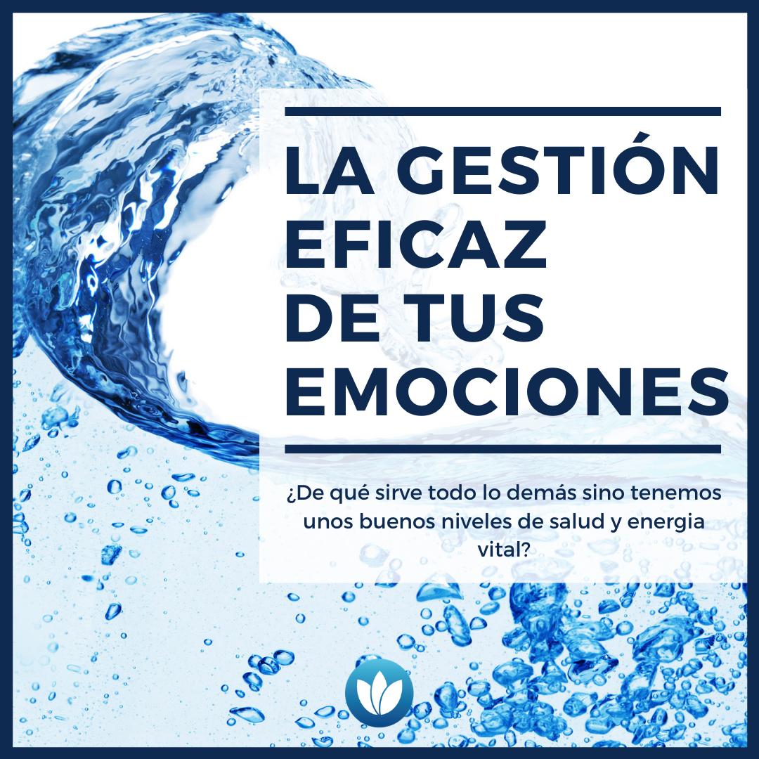 La gestión eficaz de tus emociones