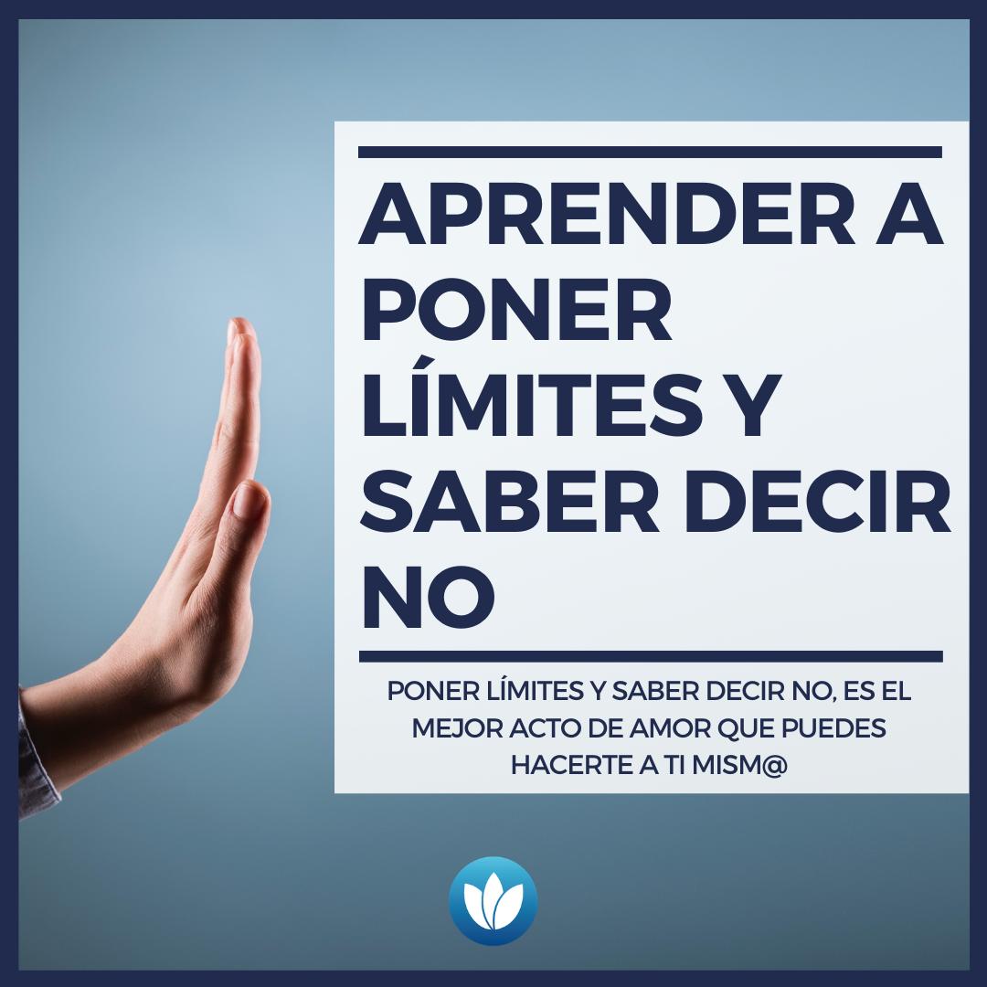 APRENDER A PONER LÍMITES Y SABER DECIR NO (1)